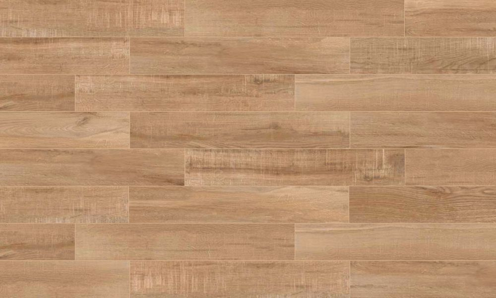 Hy Floors North Wind Brown 6 In X 36 Porcelain Wood Look Tile