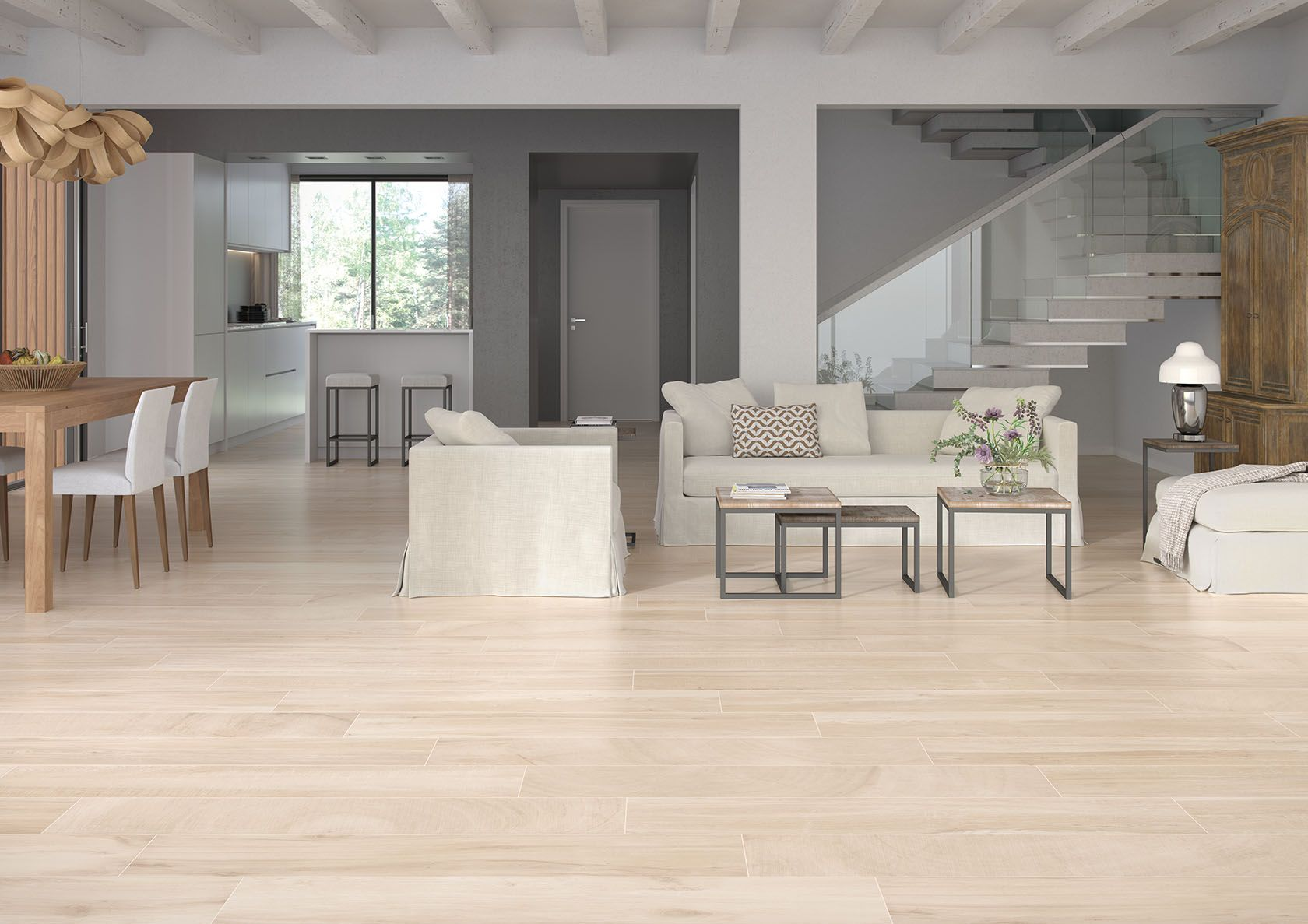 Keln Haya 9 x 48 Porcelain Wood Look Tile