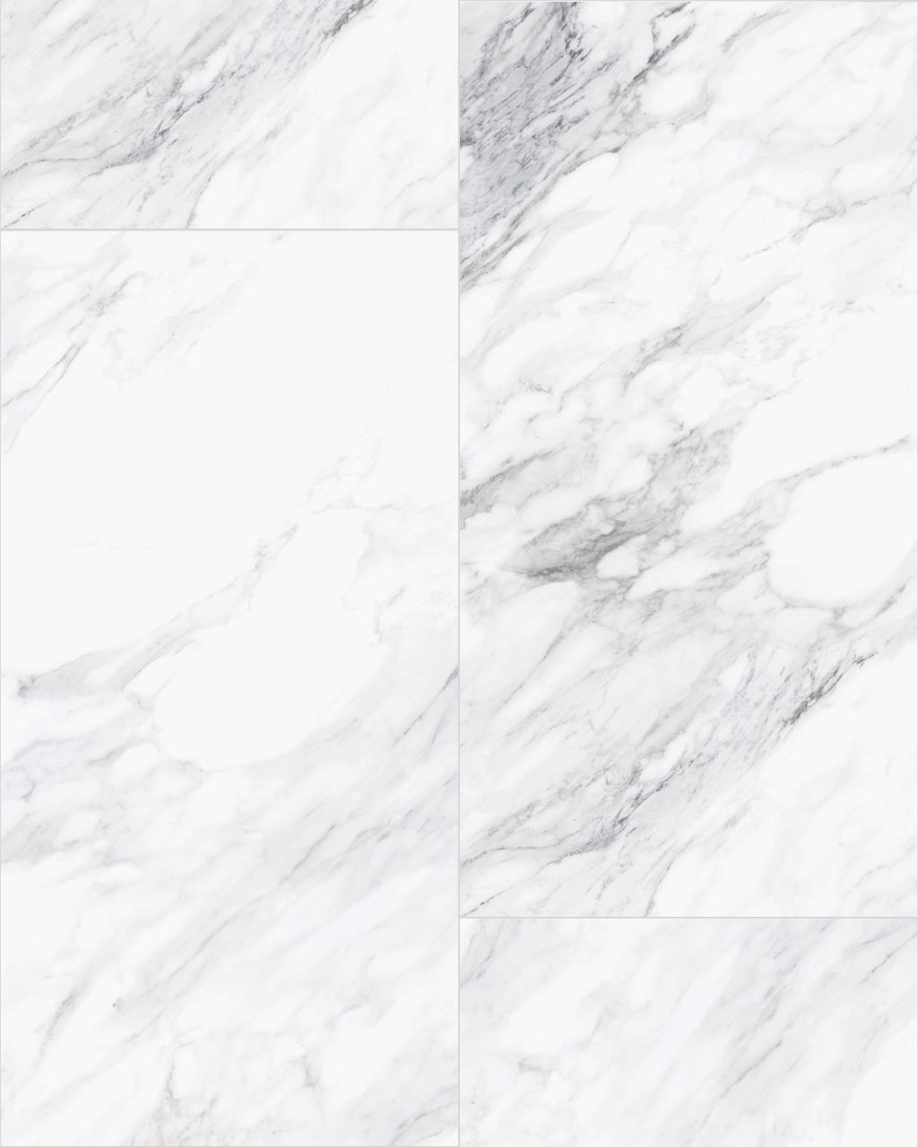An overall pattern of our Dante Blanco 24 x 48 Porcelain Tile